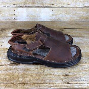 BORN Leather Slingback Sandals